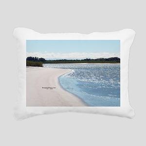 ReagansMom Dunes Park 5  Rectangular Canvas Pillow