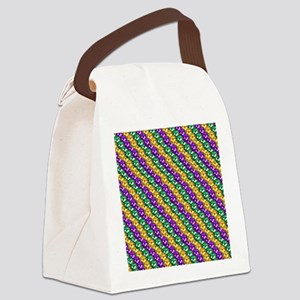 MGbeadsPatn460ipad Canvas Lunch Bag