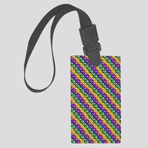 MGbeadsPatn460ipad Large Luggage Tag