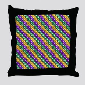 MGbeadsPatn460ipad Throw Pillow