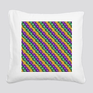 MGbeadsPatn460ipad Square Canvas Pillow