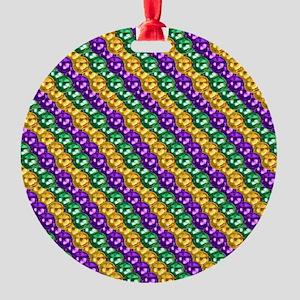 MGbeadsPatn460ipad Round Ornament