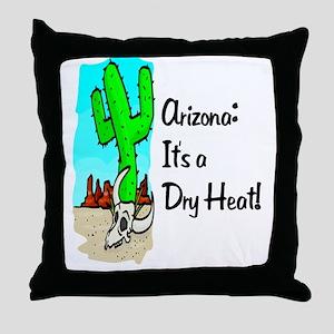 Dry Heat52x62 Throw Pillow