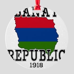 Banat Republic Round Ornament