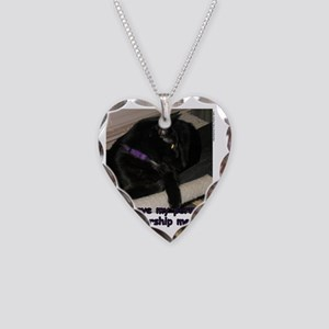 PermitToWorship Necklace Heart Charm