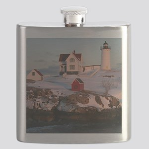 Nubble Light Tile Flask