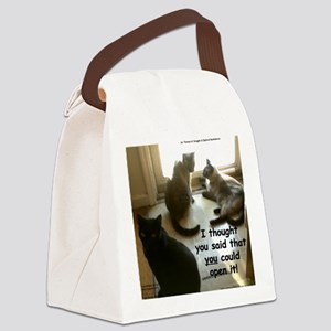 YouCouldOpenIt Canvas Lunch Bag