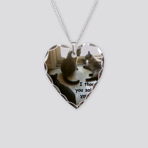 YouCouldOpenIt Necklace Heart Charm