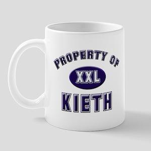 Property of kieth Mug