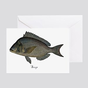 Scup Greeting Card