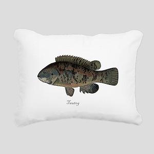Tautog Rectangular Canvas Pillow