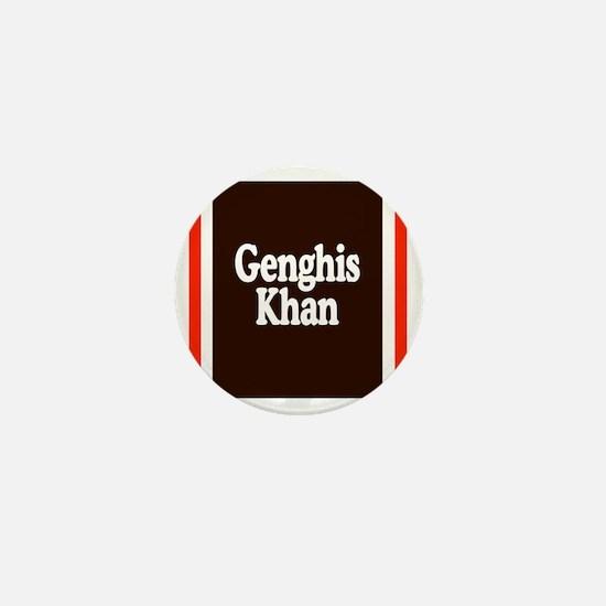 Genghis Khan Mini Button