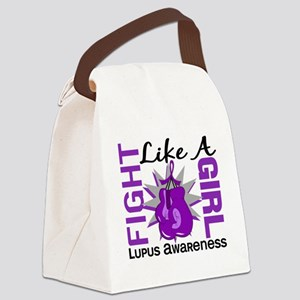 Fight Like A Girl Lupus 8.3 Canvas Lunch Bag