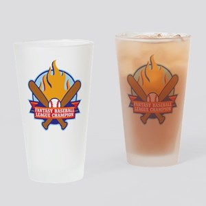 BASEBALL-V3-crop Drinking Glass