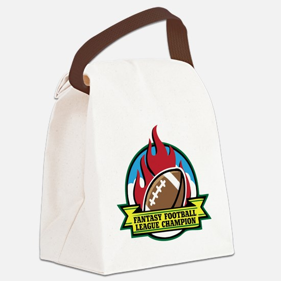 FOOTBALL-V3-crop Canvas Lunch Bag