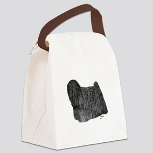 Puli in full coat Canvas Lunch Bag