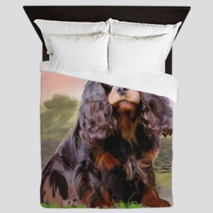 Cavalier_for_upload Queen Duvet