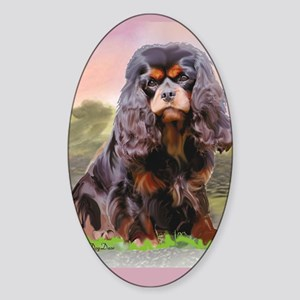 Cavalier_for_upload Sticker (Oval)