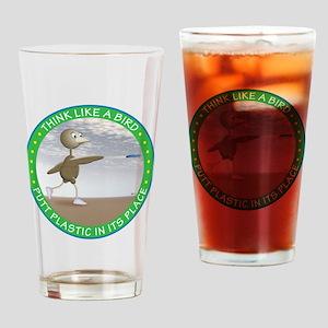 feb11_new_bird Drinking Glass