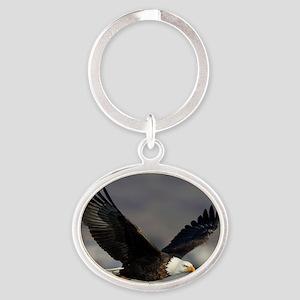 x14W  highfly Oval Keychain