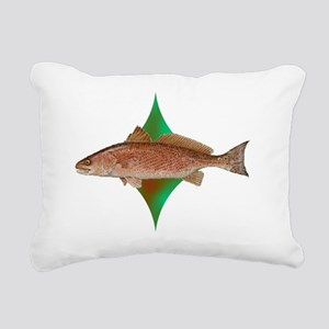 reddrumcenterlogo Rectangular Canvas Pillow