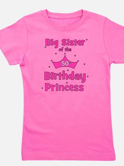 ofthebirthdayprincess_bigsister_50th Girl's Tee