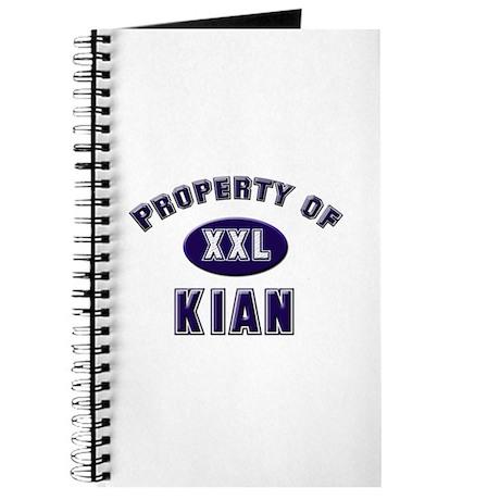Property of kian Journal