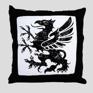BlackGriffon Throw Pillow