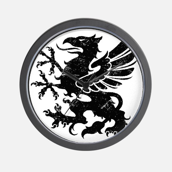 BlackGriffon Wall Clock