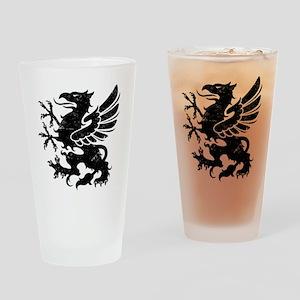 BlackGriffon Drinking Glass