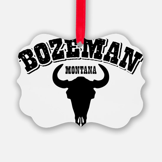 Bozeman Steer Ornament