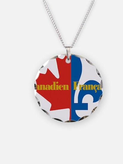 Canadien Francais pocket log Necklace