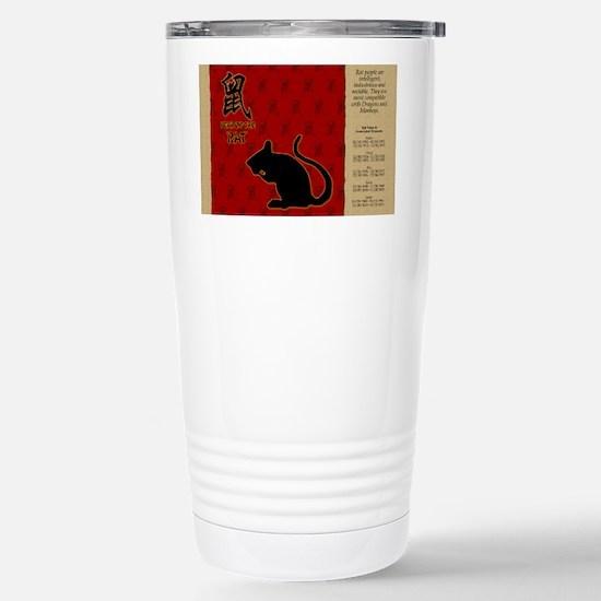 czodiac-01-rat Stainless Steel Travel Mug