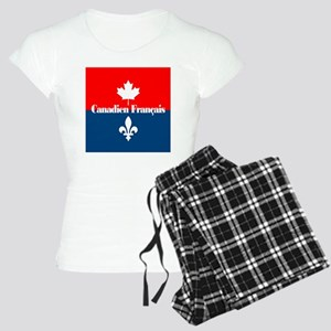 Canadien Francais (sq) Women's Light Pajamas