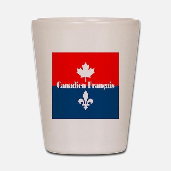 Canadien Francais (sq) Shot Glass