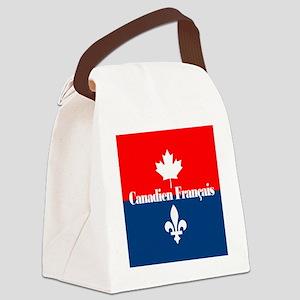 Canadien Francais (sq) Canvas Lunch Bag