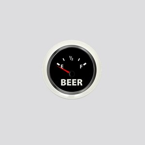 Out of Beer Mini Button