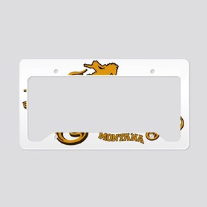 Bozeman Saloon License Plate Holder