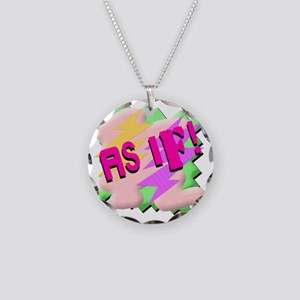 AS-IF-SHIRT Necklace Circle Charm