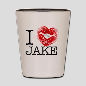 I_HEART_JAKE Shot Glass