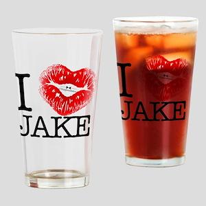 I_HEART_JAKE Drinking Glass