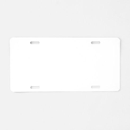 EDM Brushed B Aluminum License Plate