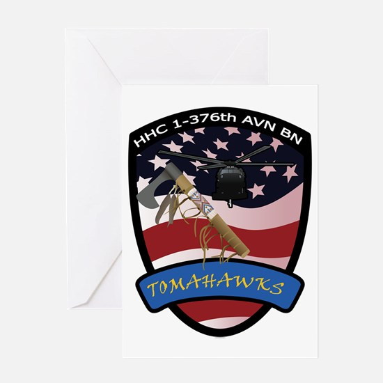 Tomahawks-Current Greeting Card