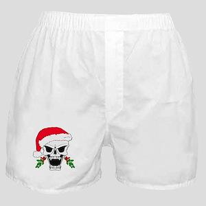 Santa skull Boxer Shorts