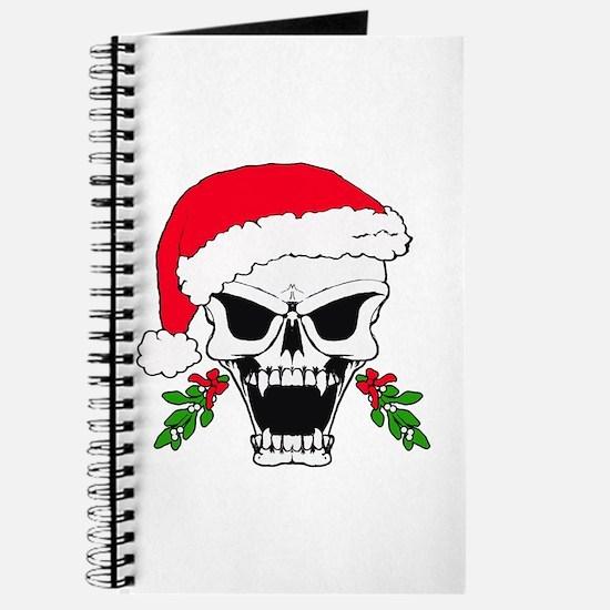 Santa skull Journal