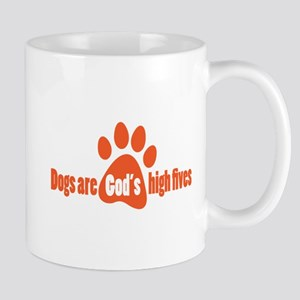 Dogs Are Gods High Fives Mugs