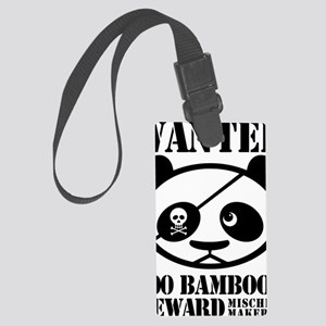 PandaWanted Large Luggage Tag