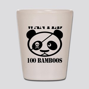 PandaWanted Shot Glass