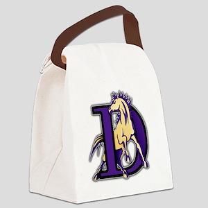 Denton High School Broncos Canvas Lunch Bag