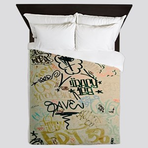 NYC Graffiti Queen Duvet